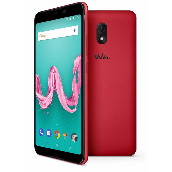 "WIKO Lenny 5, 5.7"", 16 GB, Dual SIM, 8 MP, Cherry Red"