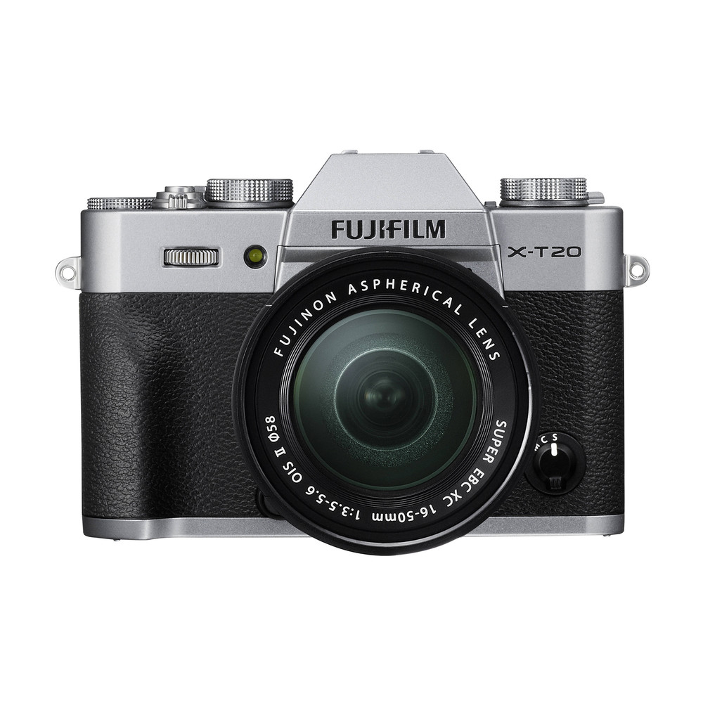 FUJIFILM X-T20 Silver Kit XC 16-50mm