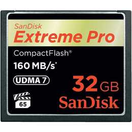 SANDISK Extreme Pro Compact Flash 32 GB