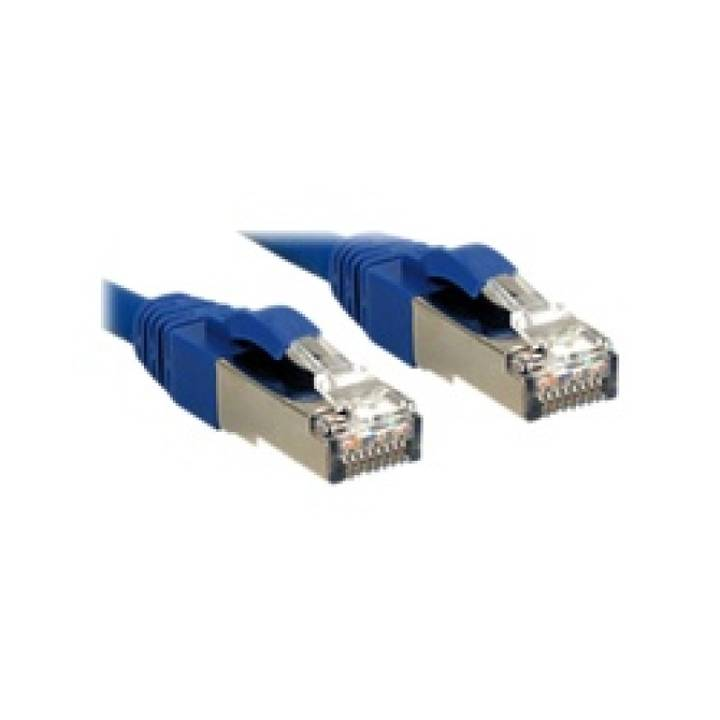 LINDY S/FTP Cat.6 Cable, blue, 15m LOH,