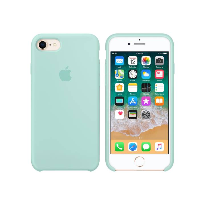 Apple iPhone 7/8 Silicone Case Marine Gr