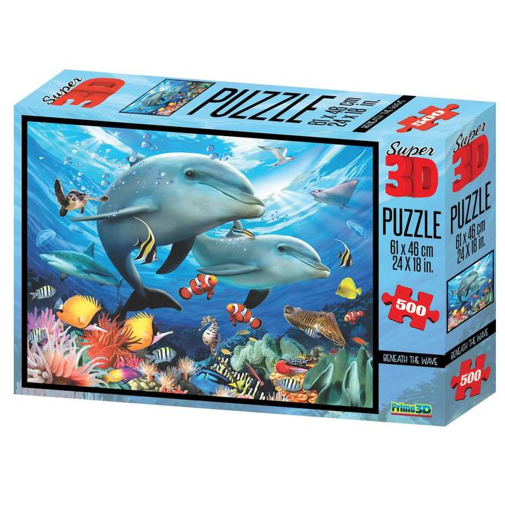 NATIONAL GEOGRAPHIC 3D Beneath the Waves Puzzle