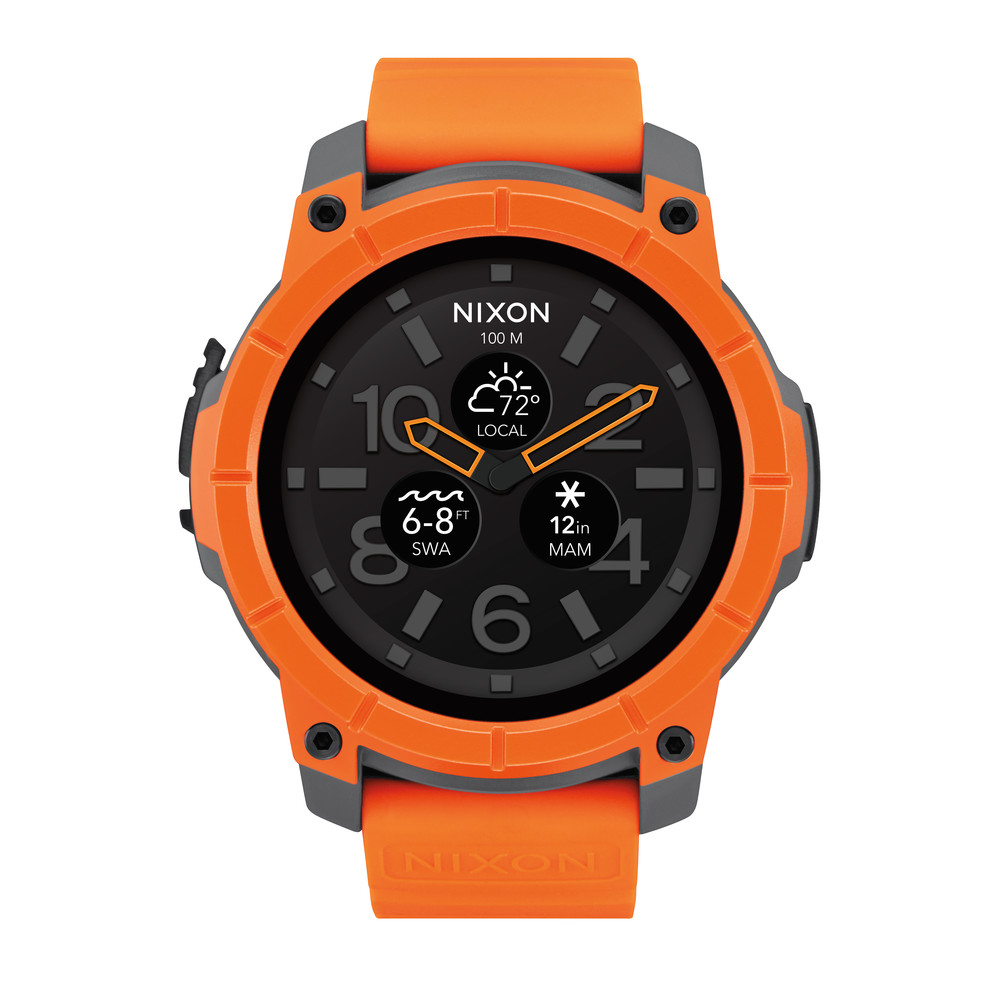 NIXON The Mission Orange