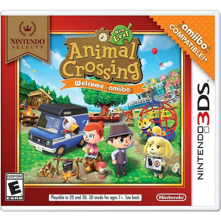 Nint. Selects: Animal Crossing-New Leaf (IT)