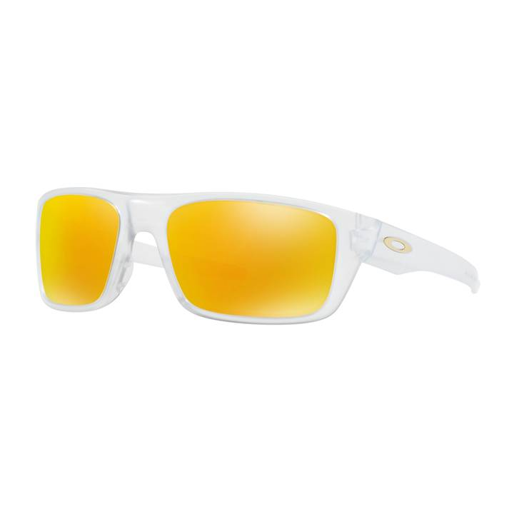 Oakley DROP POINT MATTE CLEAR / FIRE IRI