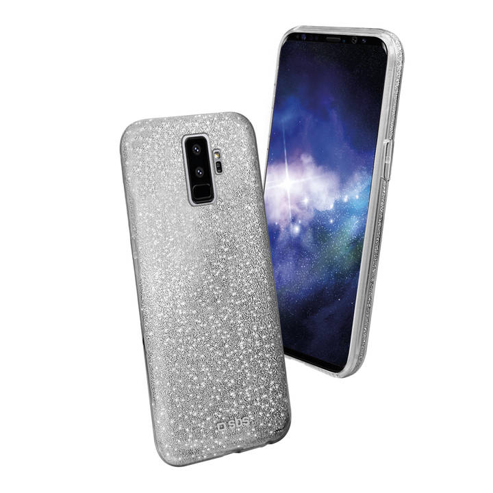 SBS Sparky Backcover, Galaxy S9+, Silver