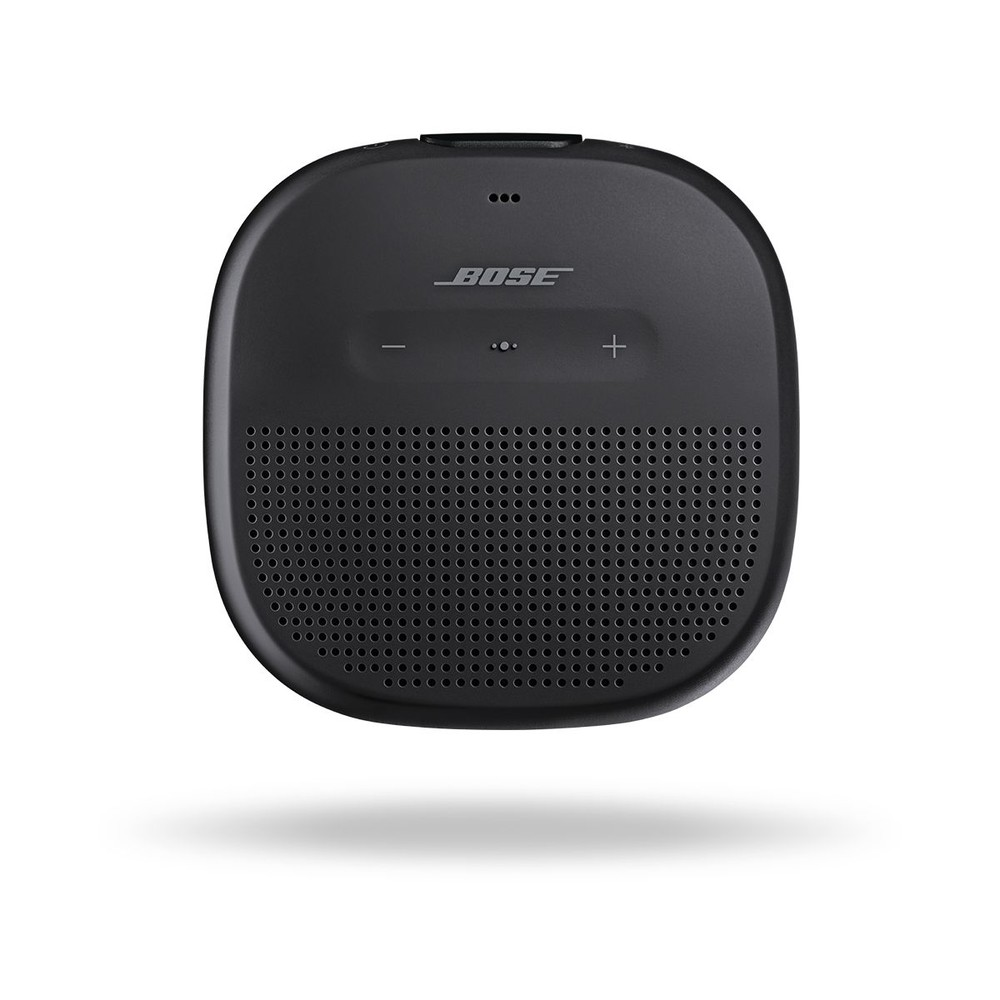 bose bluetooth mini speaker soundlink micro black. Black Bedroom Furniture Sets. Home Design Ideas