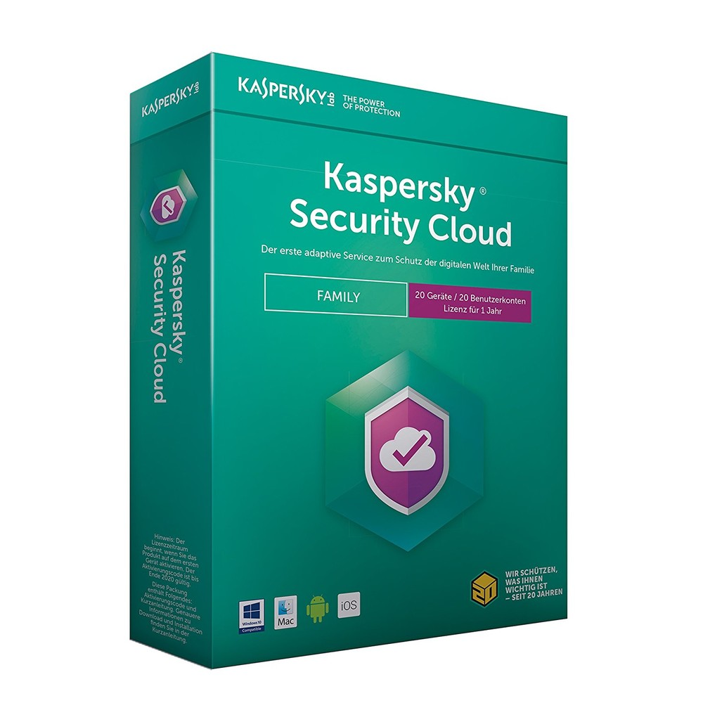 KASPERSKY Security Cloud Family Edition 20 Gerät