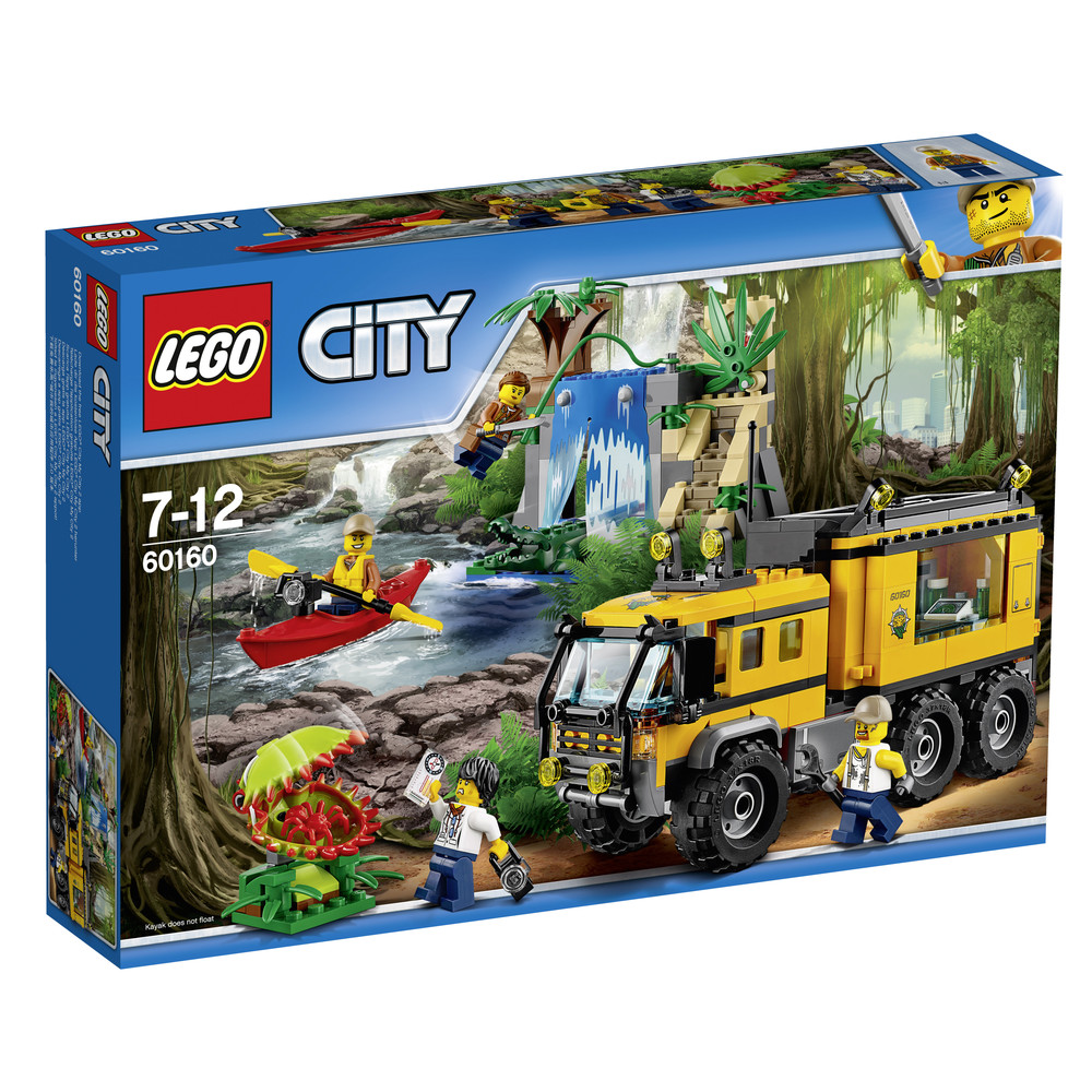 LEGO City Mobiles Dschungel-Labor (60160)