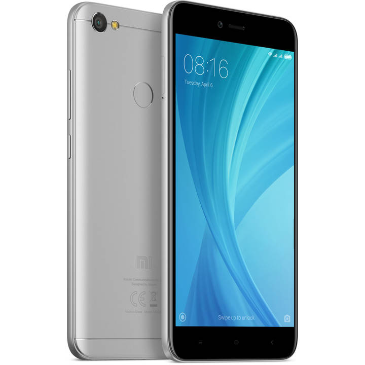 XIAOMI Redmi Note 5A, 16 GB, Dual SIM, Grey, Global Version