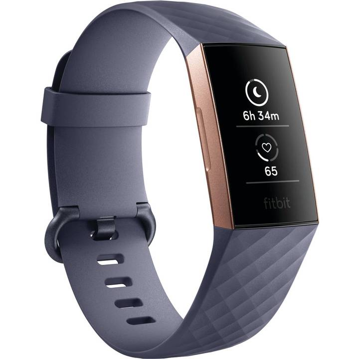FITBIT Charge 3 Rose Gold/Blue