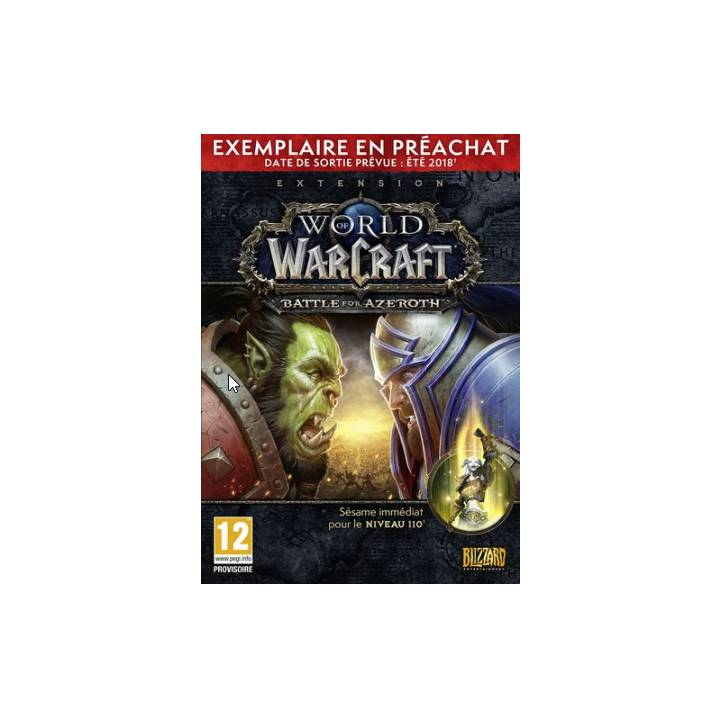 WoW: Battle for Azeroth Pre Sell Box (Version F)