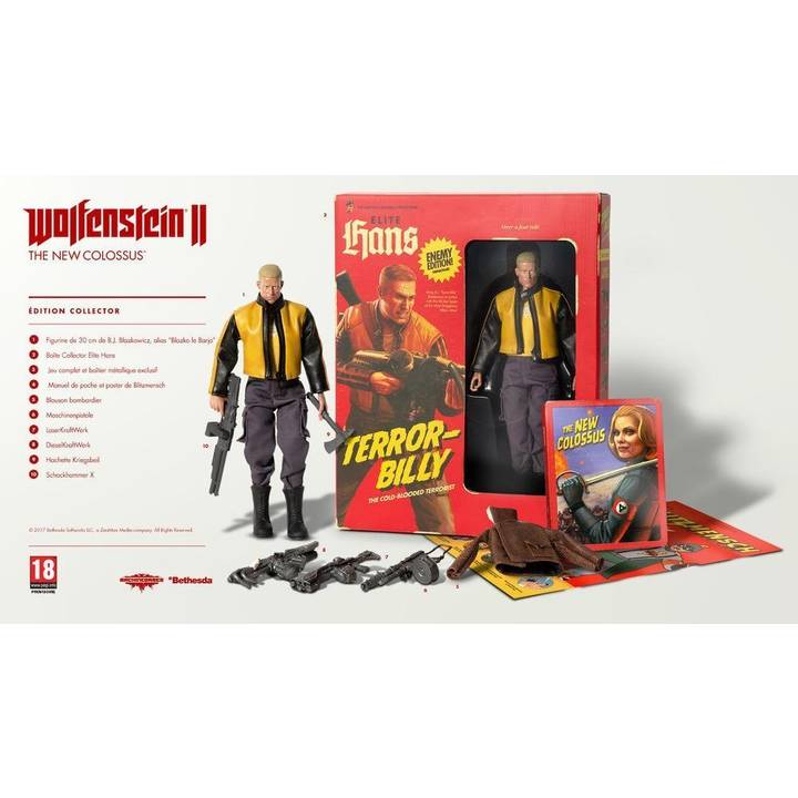 Wolfenstein II: The New Colossus - Edition Collector (Version F)