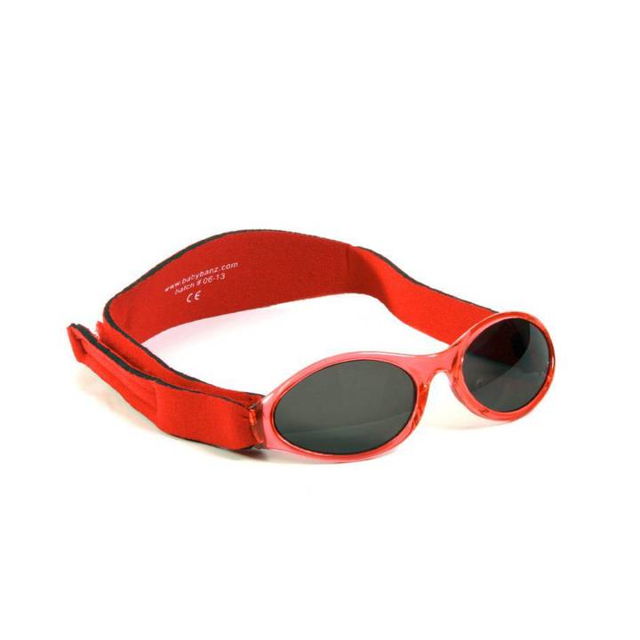 BABYBANZ Sonnenbrille Adventure Red, 0 -
