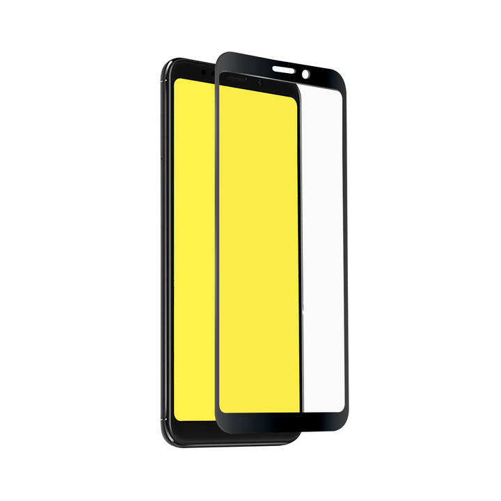 SBS Glas-Displayschutz Redmi Note 5+ Black