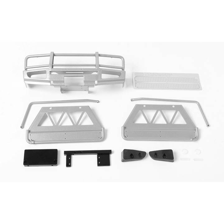 RC4WD Stossstange Trifecta LC70 Silber