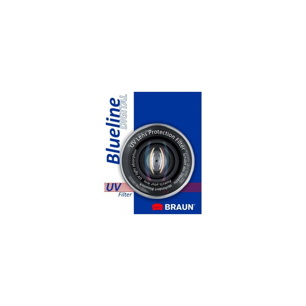 BRAUN Blueline UV Filter 46 mm