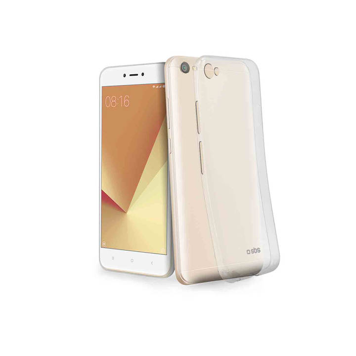 SBS Skinny Cover, Redmi Note 5A / Prime 5A / Lite 5A, Clear
