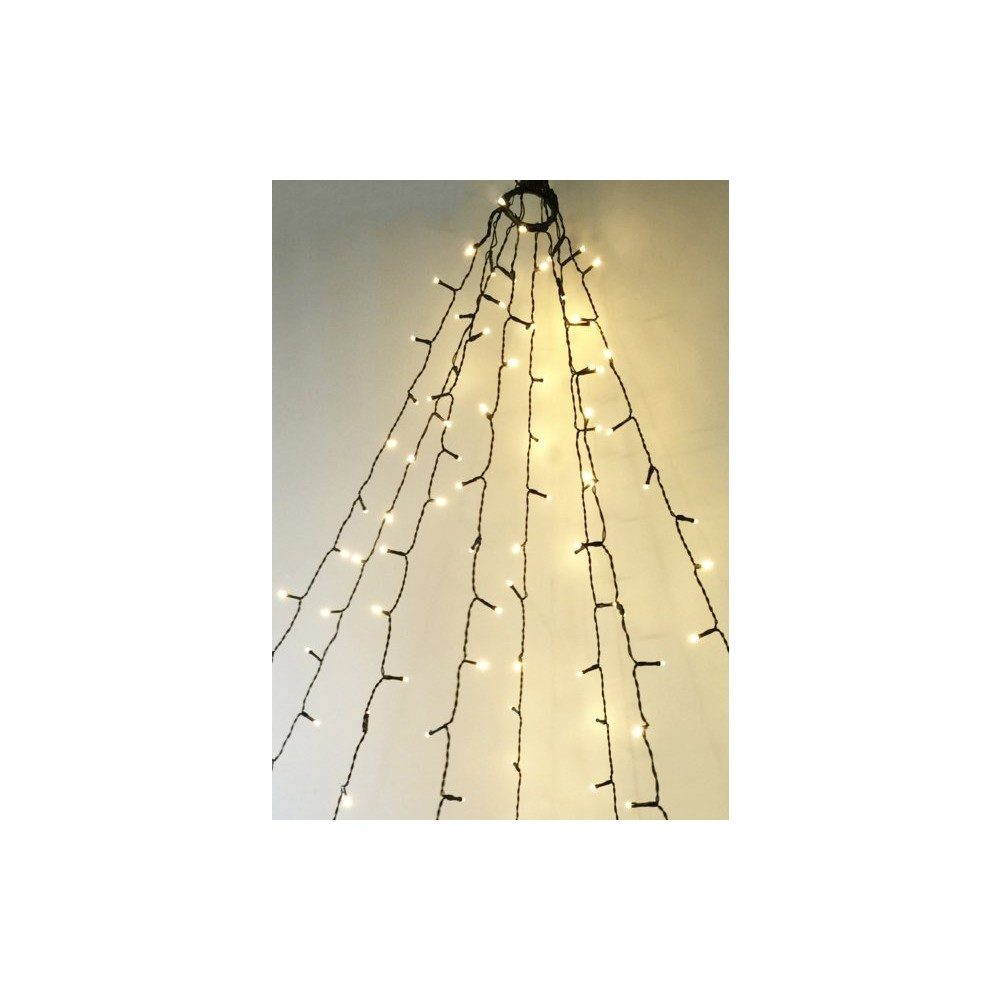 INTERTRONIC Tannenbaum-Lichterkette 160 LED's