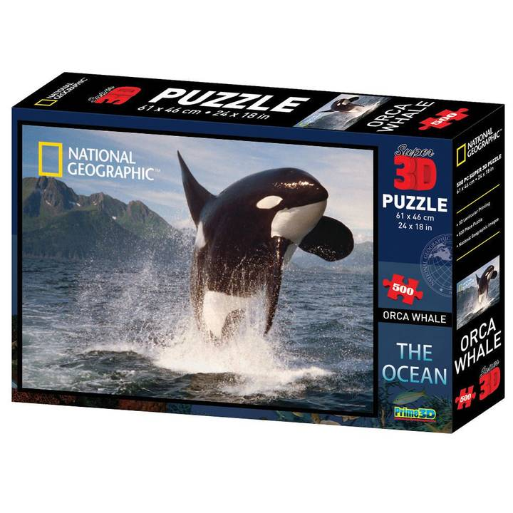 NATIONAL GEOGRAPHIC 3D Puzzle Orca