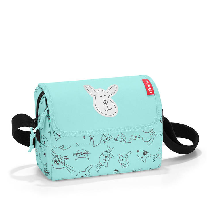 REISENTHEL Everydaybag Cats and Dogs Mint