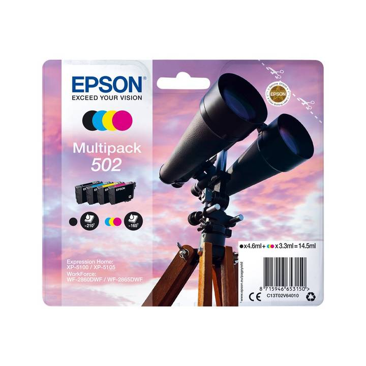 EPSON Multipack 4-colours 502 Ink