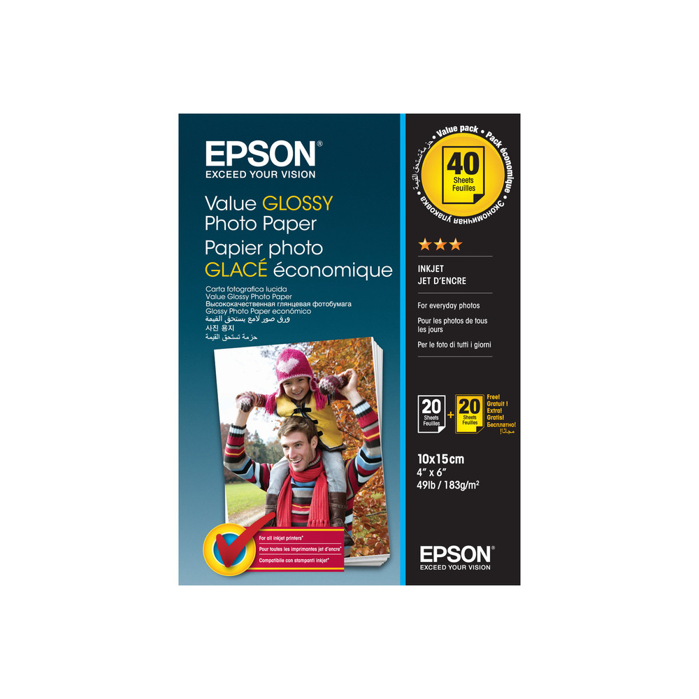 Epson Photo Paper Glossy 10x15