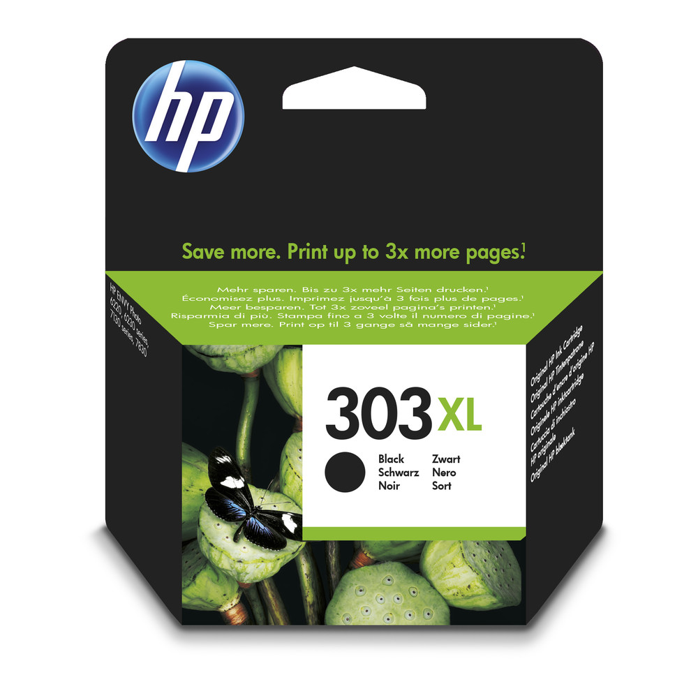 HP Ink/Original 303XL HY Black