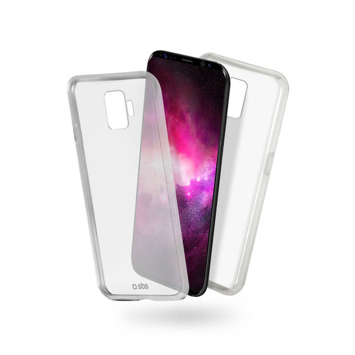 SBS Cover Clear Fit für Galaxy S9 Clear
