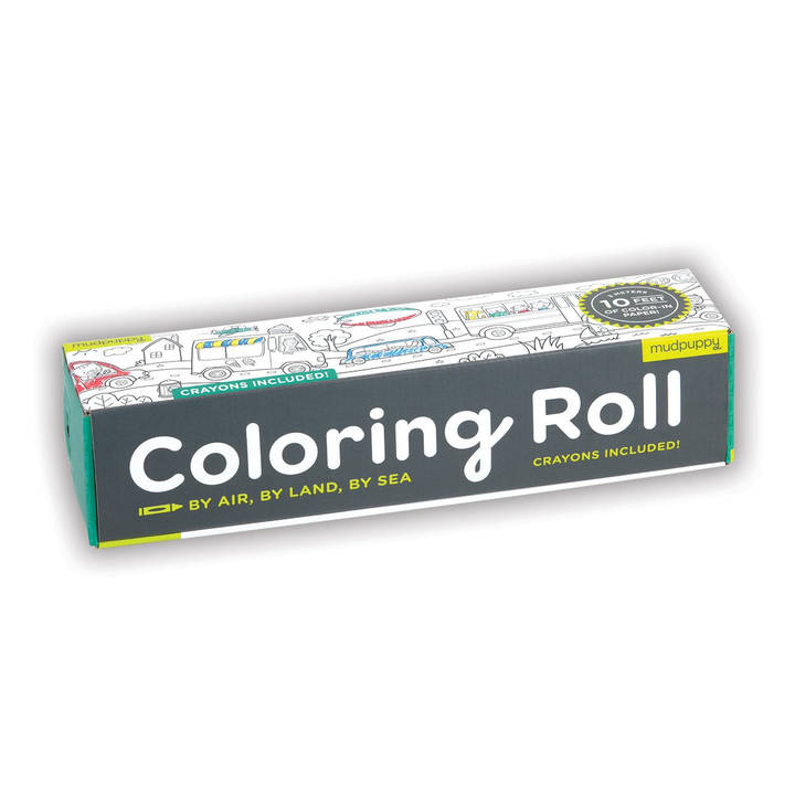 Coloring Roll Luft, Land und Meer Alter: