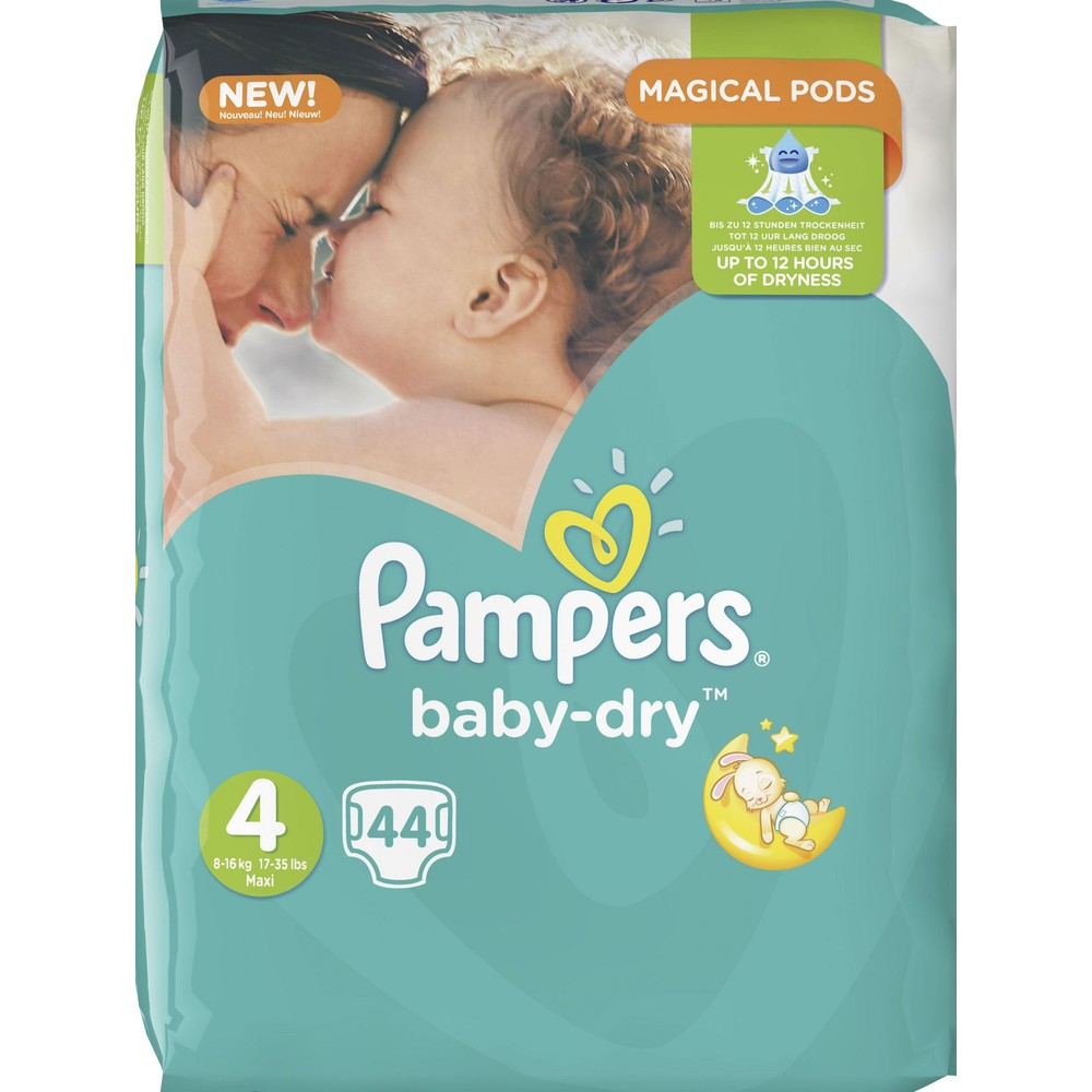 PAMPERS Windeln Baby Dry Gr. 4