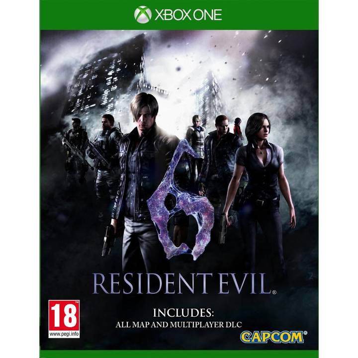Resident Evil 6 HD, Xbox One Alter: 18+