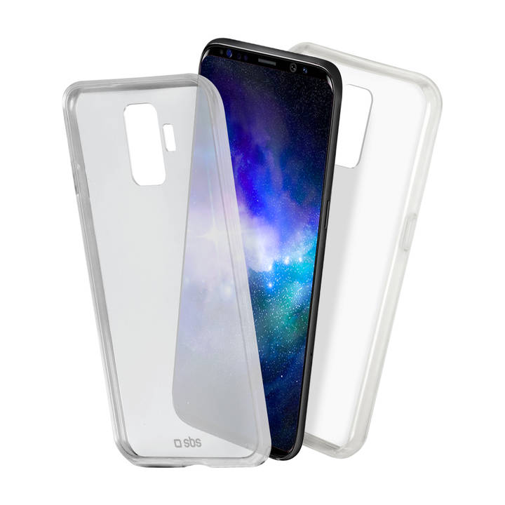 SBS Backcover, Galaxy S9+, Clear