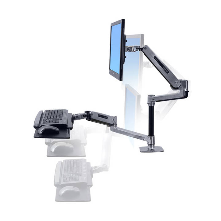 Sit-Stand Desk Mount System