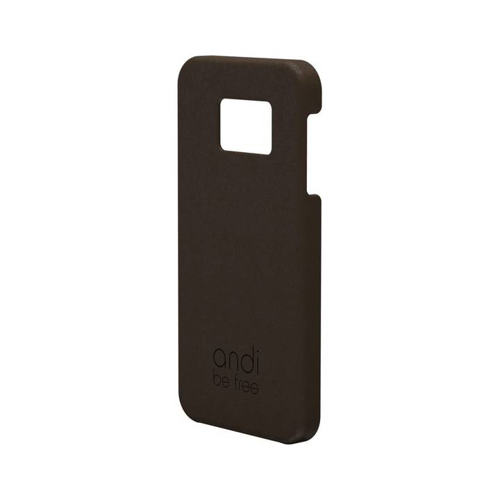 ANDI BE FREE Cover Leather für Galaxy S8 Plus, braun