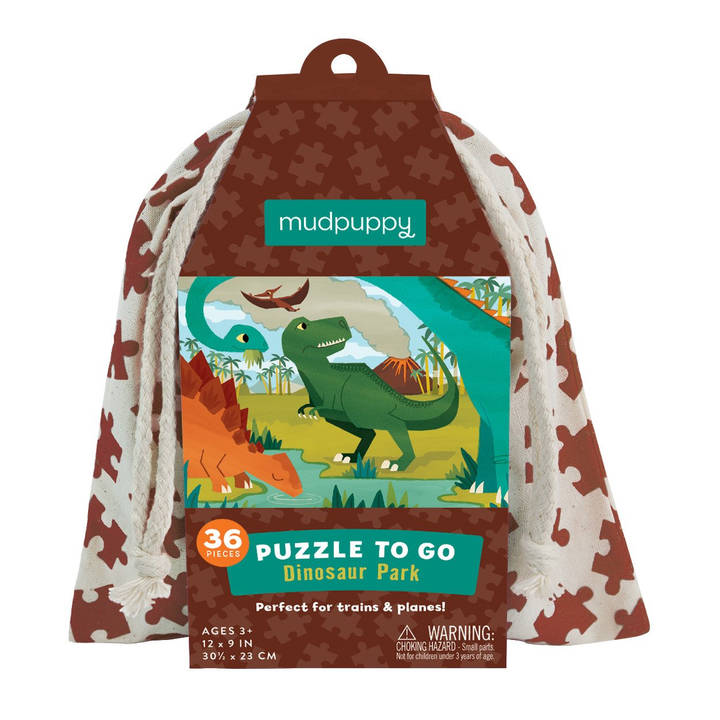 Puzzle To Go Dinosaurier Alter: 3+, 36 T
