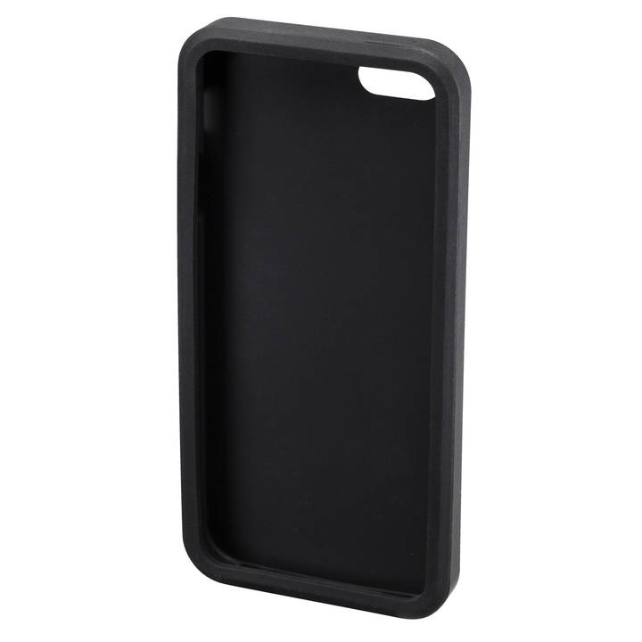 INTERTRONIC Backcover iPhone 5/5S/SE black