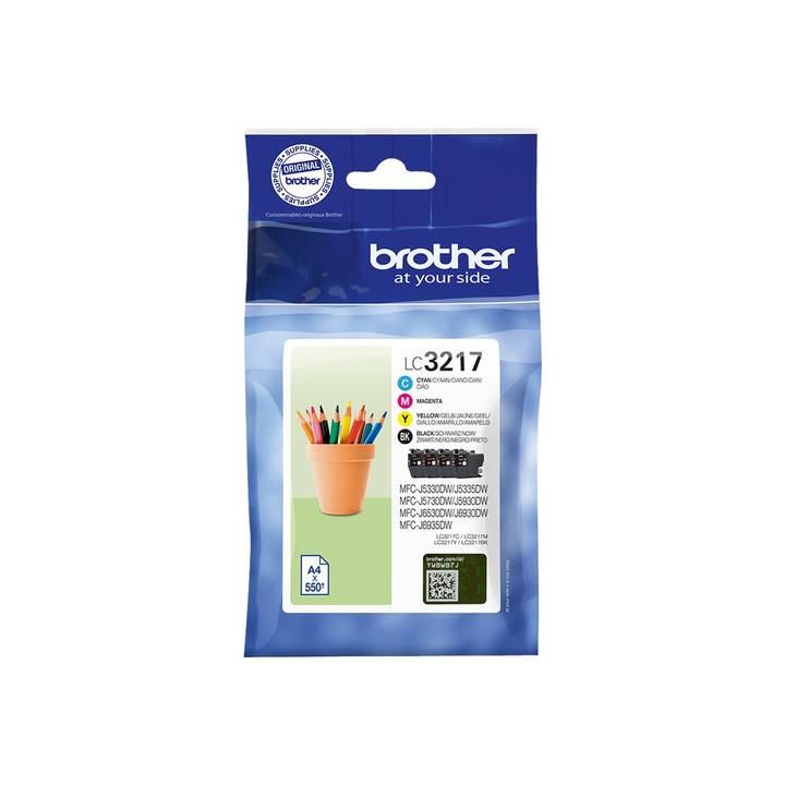 BROTHER LC3217 Multipack