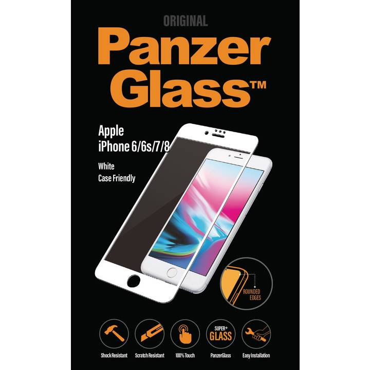 PANZERGLASS Displayschutz Premium für iPhone 6/6s/7/8 White