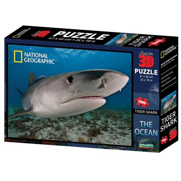NATIONAL GEOGRAPHIC 3D Puzzle Shark