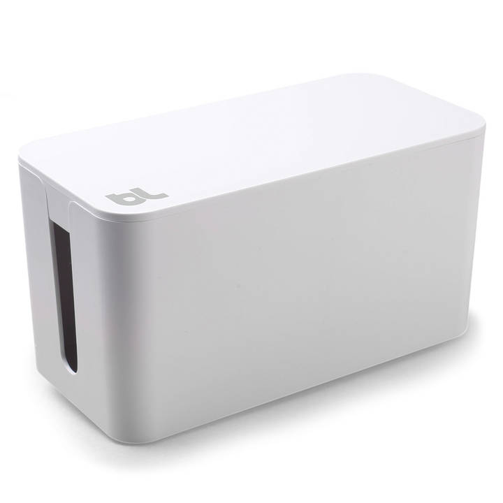 blueLounge Kabelbox Mini Weiss null