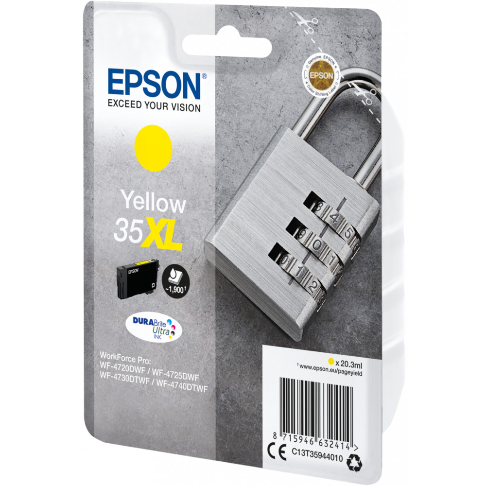 EPSON 35XL Ink Yellow 20,3ml