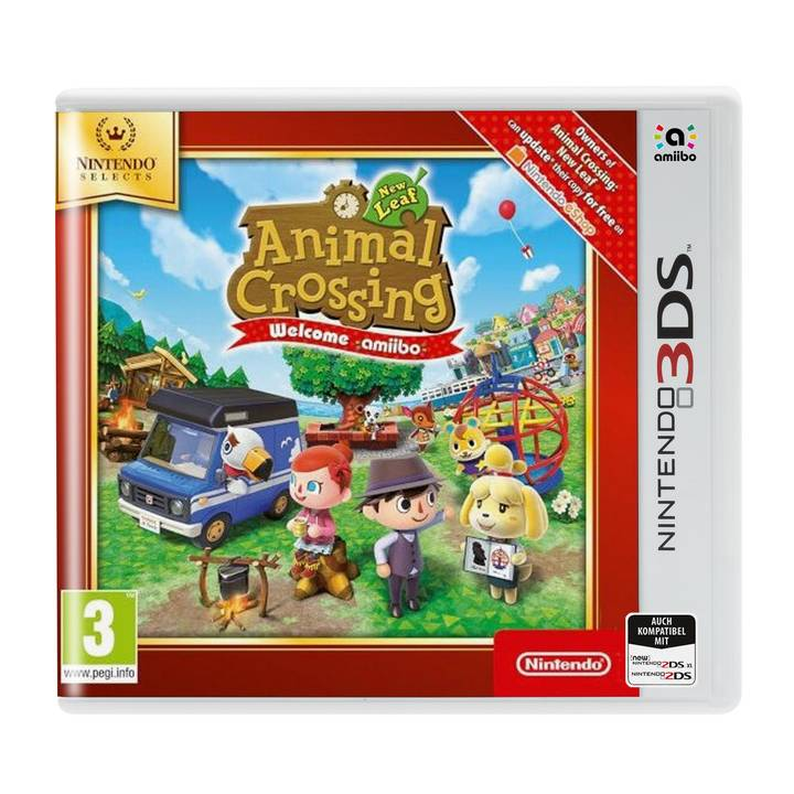Animal Crossing: New Leaf Welcome Select