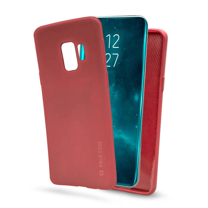 SBS Backcover Polo, Galaxy S9, Red
