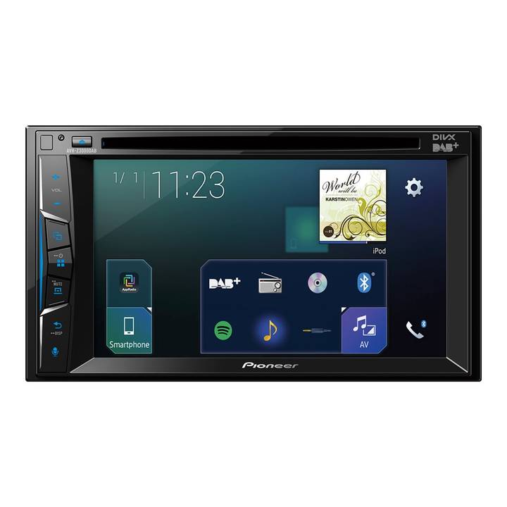 Pioneer AVH-Z3000DAB-AN, Moniceiver 2-D