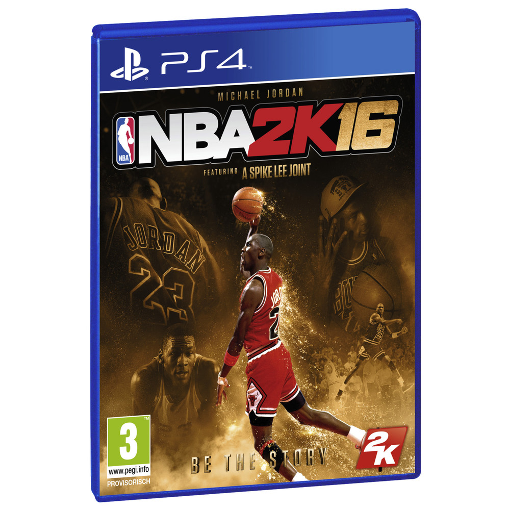 NBA 2K16 Special Edt PS4 D Alter: 3+
