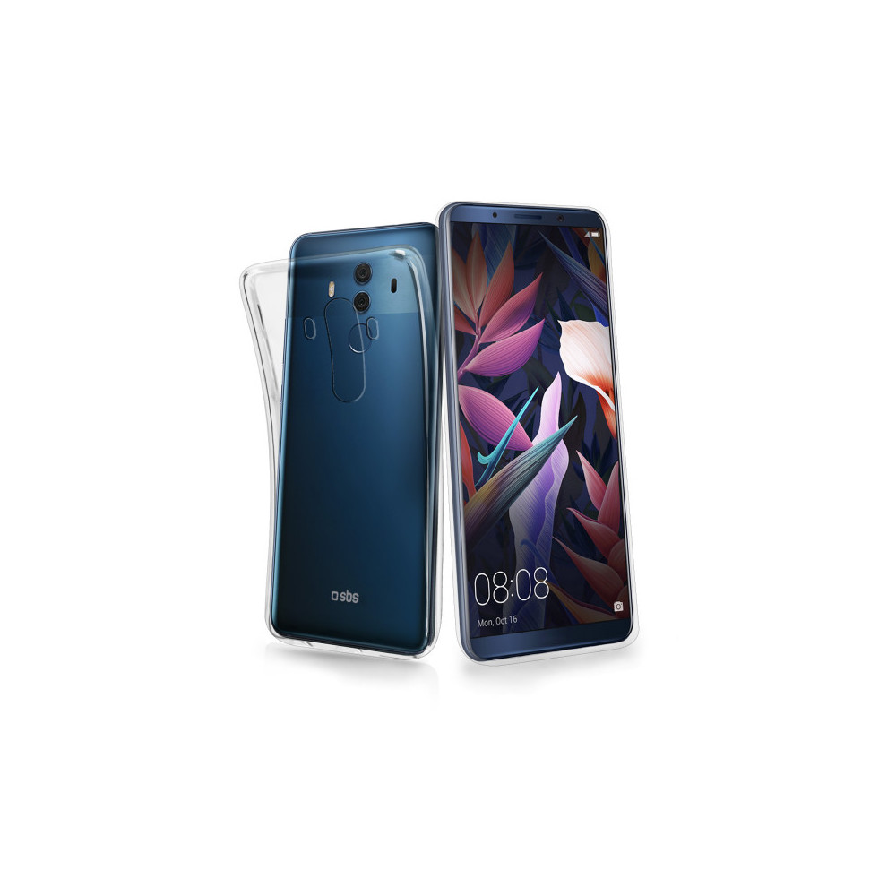 SBS Cover für Huawei Mate 10 Pro Transparent
