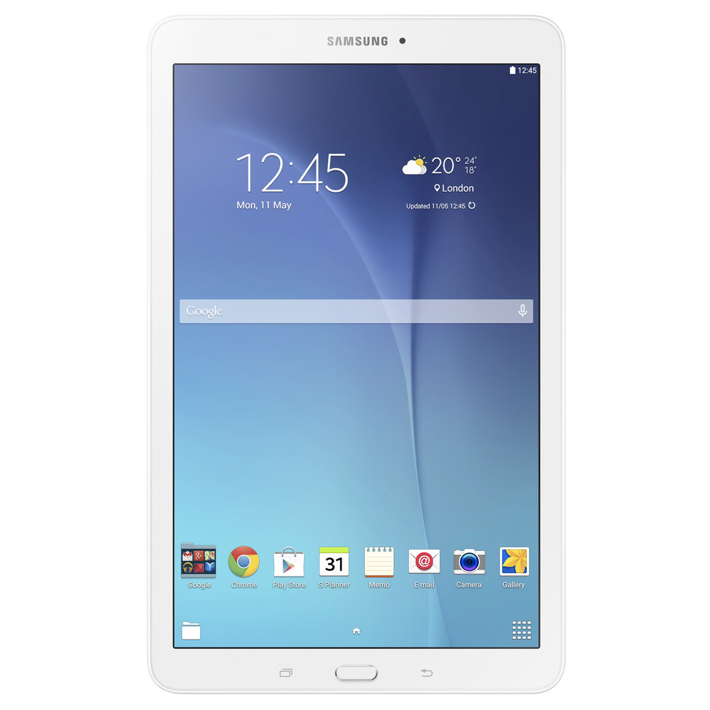 "SAMSUNG Tablet 9.6"" Galaxy E 8GB White - WiFi"