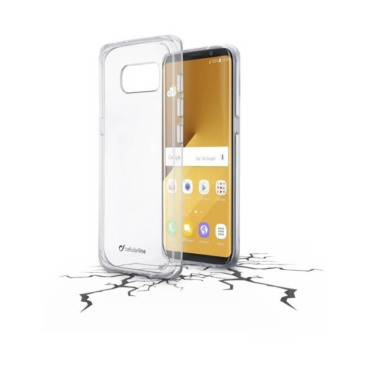 CELLULAR LINE Clear Duo Galaxy S8 Plus