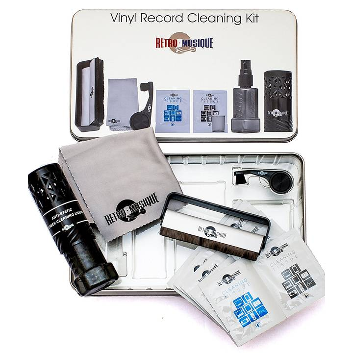 Vinyl Cleaning Kit in Tincase